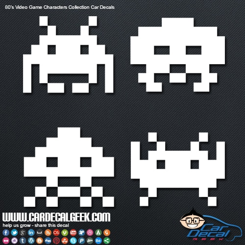 space invaders 80s game