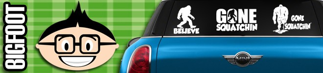 Bigfoot Decals & Stickers