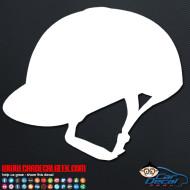 Equestrian Helmet Decal Sticker