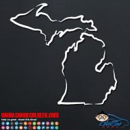 Michigan Decal Sticker