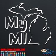 My Michigan Decal Sticker