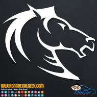 Tribal Horse Head Decal Sticker