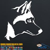 Husky Dog Decal Sticker