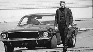 Steve McQueen and Bullitt Mustang