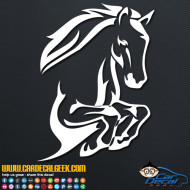Leaping Horse Decal Sticker