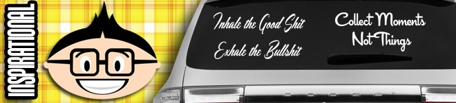 Inspirational & Motivational Decals