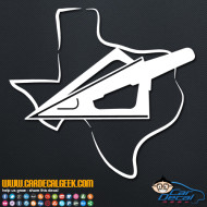 Texas Bowhunting Decal Sticker