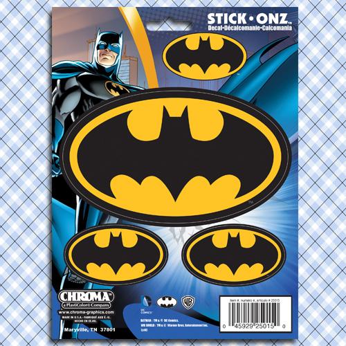 Muscle Car Decals >> Batman Symbol Car Window Decals Stickers