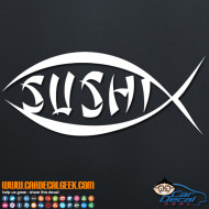 Sushi Fish Decal Sticker