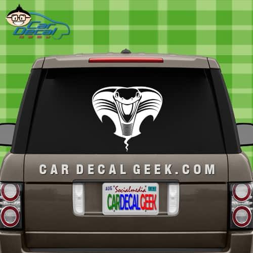 Cobra Snake Head Car Sticker