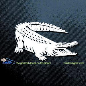 alligator crocodile car decal