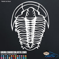 Trilobite Car Window Decal
