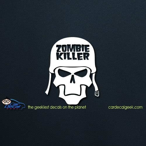 Zombie Killer Car Window Vinyl Decal