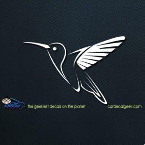Hummingbird Car Window Decal Sticker