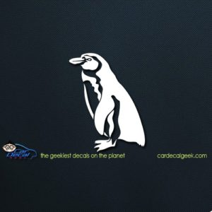 Penguin Car Decal