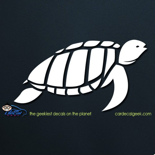 Reptile Sea Turtle Car Decal