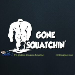 Sasquatch Bigfoot Car Window Decal Sticker