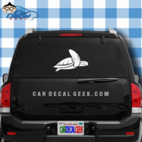 Sea Turtle Decal Sticker