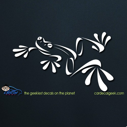 Tree Frog Car Window Decal