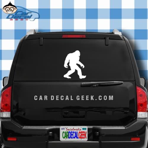 Bigfoot Walking Car Window Decal Sticker Graphic