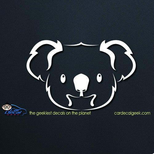 Koala Bear Car Decal