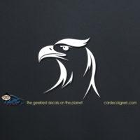 American Eagle Head Car Decal