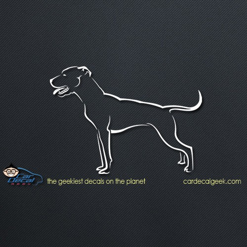 Pitbull Car Decal