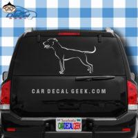 Pitbull Dog Car Window Decal Sticker Graphic