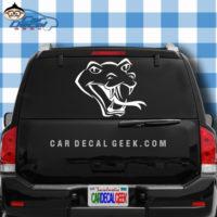 Snake Head Reptile Car Window Decal Sticker Grpahic