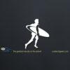 Surfer Dude Car Decal