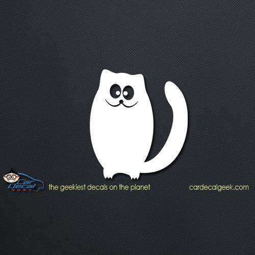 Cute Kitty Cat Car Decal