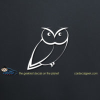 Adorable Owl Car Decal