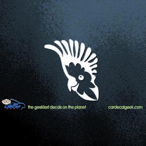 Cockatoo Bird Car Decal