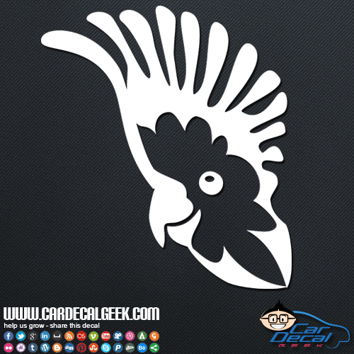 Cockatoo Parrot Sticker