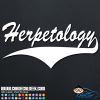 Herpetology Decal