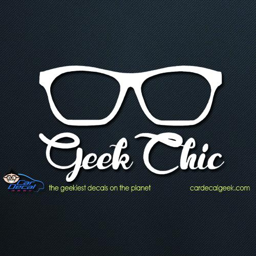 Geek Chic Car Decal