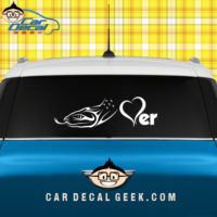 Snake Lover Car Window Decal Sticker