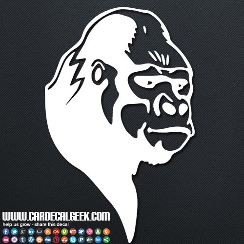 Gorilla Car Decal