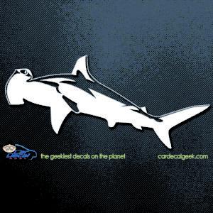 Hammerhead Shark Car Decal