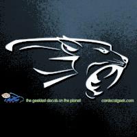 Panther Car Decal