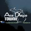 Ace Deuce Townie Car Decal