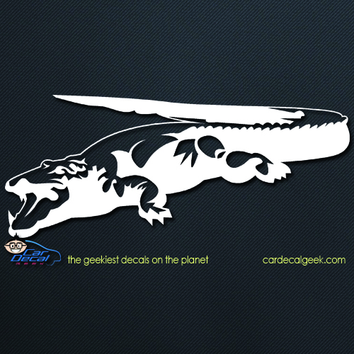 Reptile Alligator Crocodile Car Decal