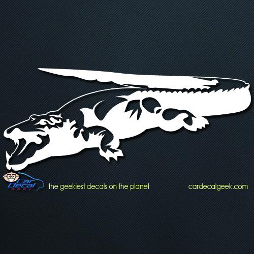 Reptile Alligator Crocodile Car Decal