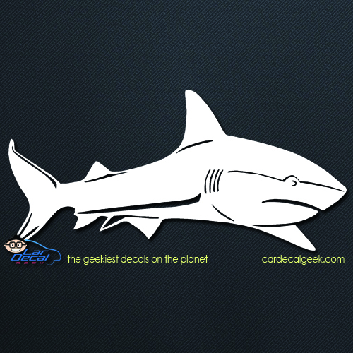 Great White Shark Car Decal