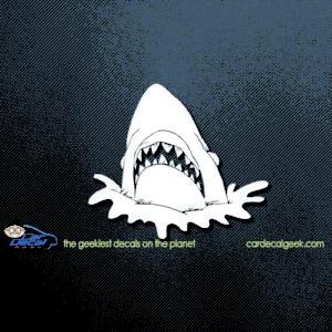 Shark Head Car Decal