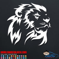 Lion Decal Sticker