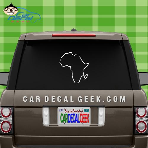 Africa Sticker Decal