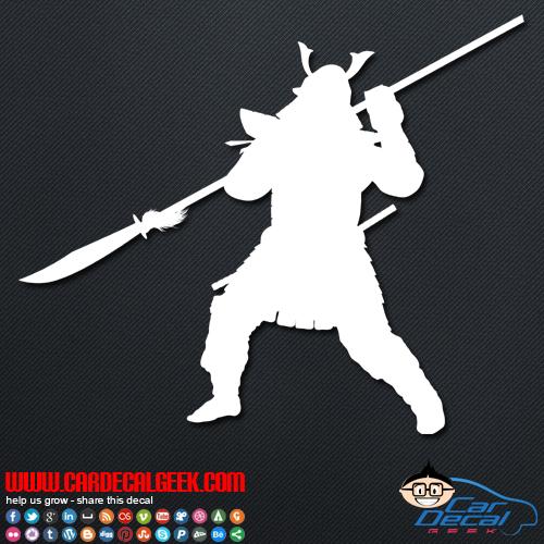 Ancient Asain Warrior Decal