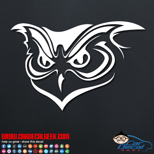 Owl decal owl car