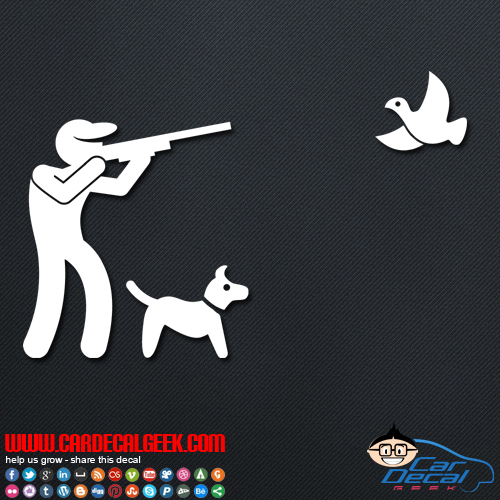 Bird Hunting Decal